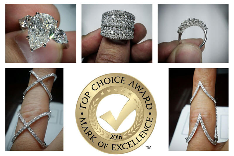 You Have Voted Diamonds For Less The #1 Jeweller!