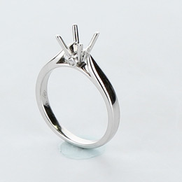Solitaire Engagement Ring Mobile Image 9