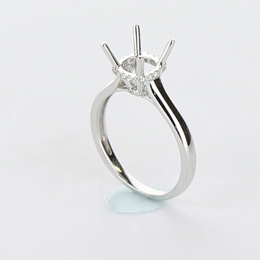 Solitaire Engagement Ring Mobile Image 11