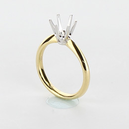 Solitaire Engagement Ring Mobile Image 14